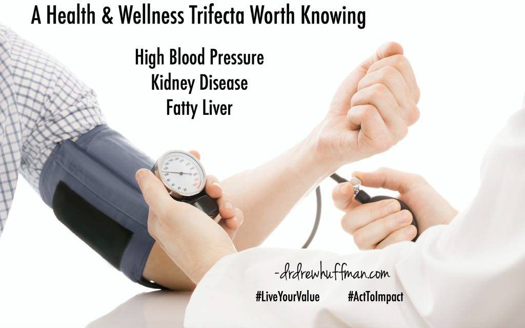 High Blood Pressure Kidney Disease Fatty Liver Know The Facts Dr Drew Huffman
