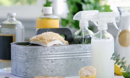 How to Make Homemade Cleaners and Disinfectants