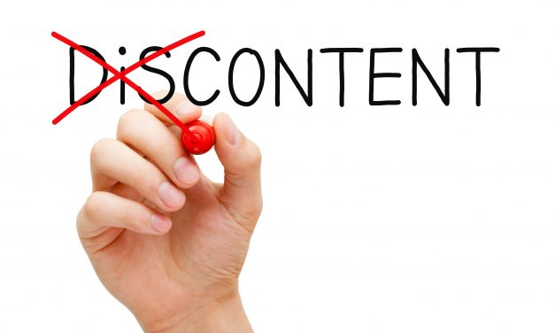 Discontently Content – The Healthier Choice To Happiness